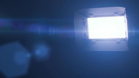 Film Studio TV Light - LED stock footage