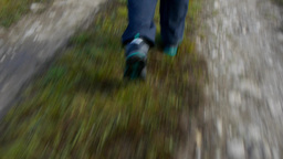 She Goes Fast On A Country Road 54a stock footage