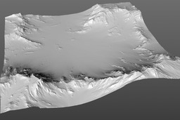 Mountain terrain_c4d 3D Model