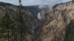 Lower Falls, Yellowstone Footage