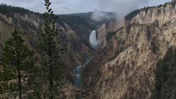 Lower Falls, Yellowstone Footage