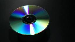 虹色に回転するディスク Footage