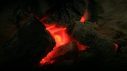 囲炉裏の火 Footage