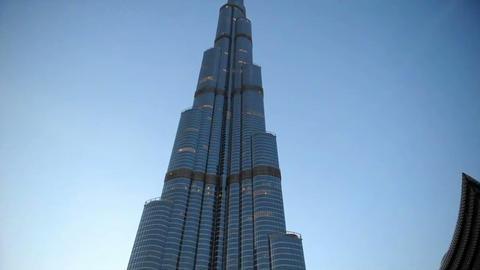 Bildings in Emirates 4 Stock Video Footage