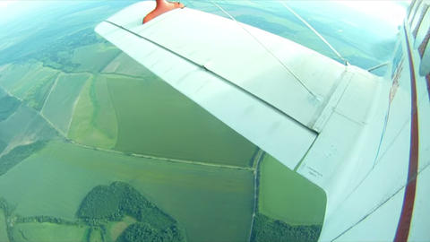 Parachute jump 6 Stock Video Footage