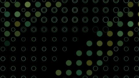 disco dots light... Stock Video Footage