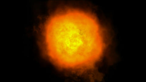 Fire,Explosion in space,Eruption of... Stock Video Footage