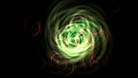 rotation fiber optic wire shaped tunnel hole in space,electric energy field in universe Animation