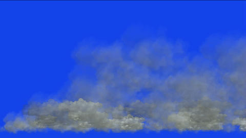 storm clouds,flying smoke Stock Video Footage