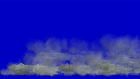 storm clouds,flying smoke Animation