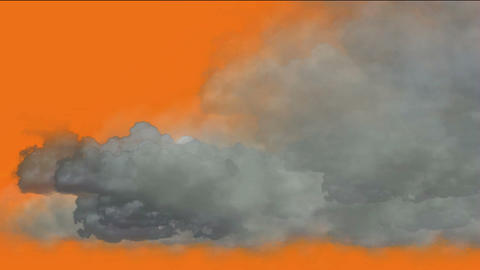 clouds,flying smoke Stock Video Footage