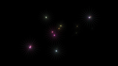 shine purple stars at night,disco ray light,christmas and... Stock Video Footage