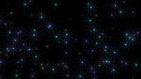 blue stars at night,disco ray light,christmas and wedding... Stock Video Footage