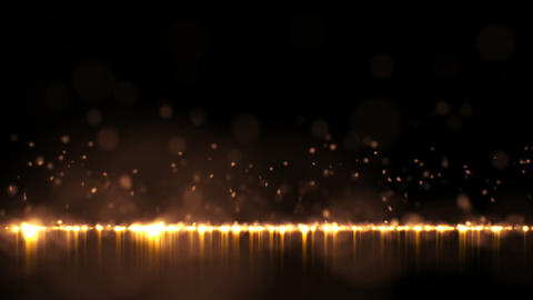 Particle Rain Stock Video Footage