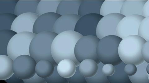 3d blue rotation balls background.Eggs,table... Stock Video Footage