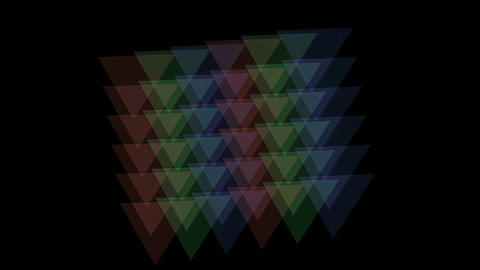 tangram,color papers,plastic card,triangle... Stock Video Footage