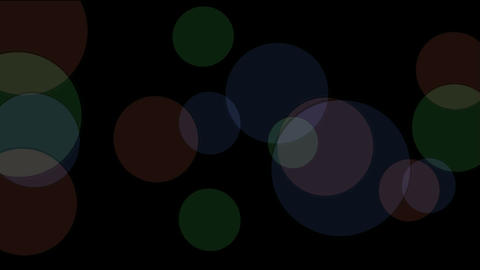 defocused circle lights drifting downwards,christmas... Stock Video Footage