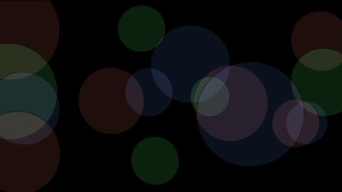 defocused circle lights drifting downwards,christmas background Animation