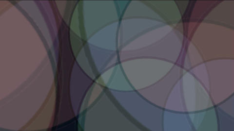 color circle slowly... Stock Video Footage