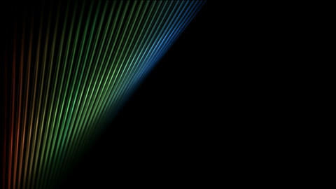 abstract fiber optic banner,metal machine probe... Stock Video Footage