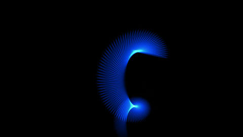 blue ray light,fiber optic cable,spiral... Stock Video Footage