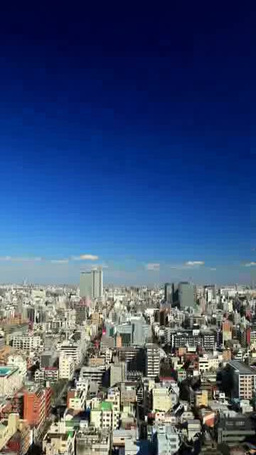 錦糸町方向の街並 Footage