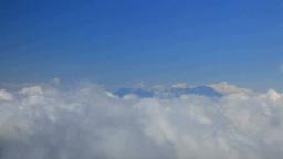 雲海と浅間山方向の雲海 Footage