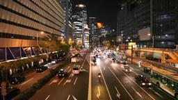 街中の夜景 Footage