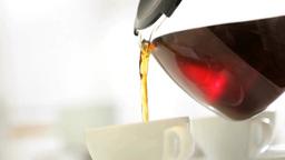 コーヒーサーバーとカップ Footage