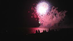 Skyrocket firework Footage