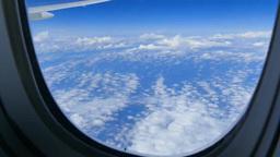 空撮の空と雲 Footage