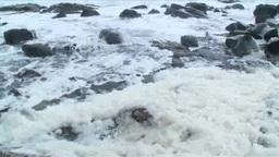 波の華と千畳敷海岸 Footage