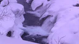 プチナイアガラの滝の冬 Footage