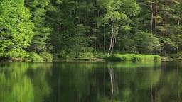 御射鹿池湖畔 Footage