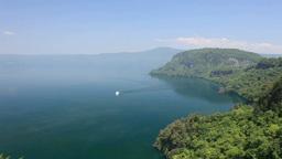 十和田湖と遊覧船 Footage