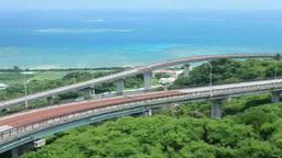 ニライ橋カナイ橋と海とリーフ Footage