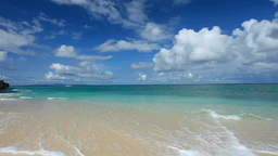 海と青空と積乱雲 Footage