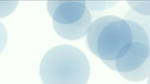 blue circle lights.Clip resembles themes of christmas Stock Video Footage