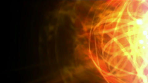 burn sun,golden nebula and whirl laser,energy tech fiber optic cable Animation