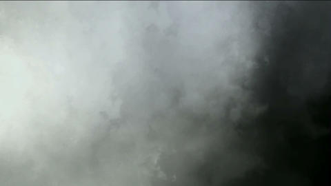 dark clouds & fog slowly flying Animation