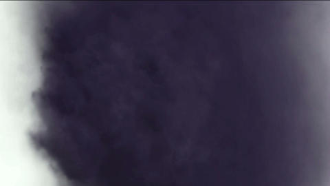 rolling dark clouds & smoke,pollution gas Animation