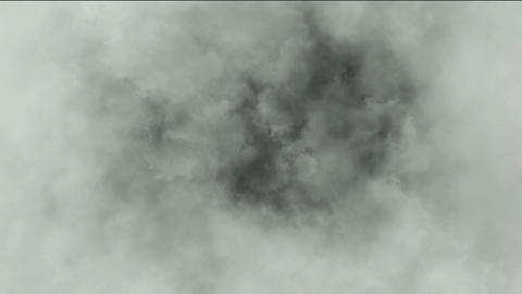 dark clouds & smoke slowly flying,pollution gas Stock Video Footage