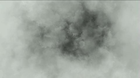 dark clouds & smoke slowly flying,pollution gas Animation