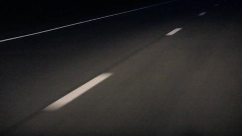 road markings Stock Video Footage