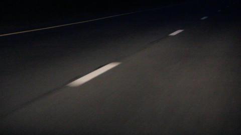 road markings Stock Video Footage