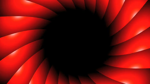 red vortex rotate Stock Video Footage