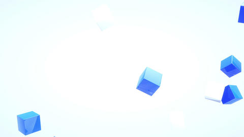 Cube pop up Stock Video Footage