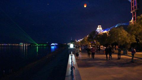 Heihe City Night Views 1