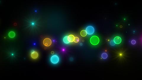 Neon LED Dot11 Ea1b HD Stock Video Footage