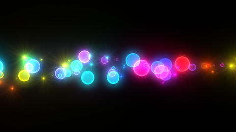 Neon LED Dot11 Ea1b HD Stock Video Footage